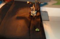 Original DIY Leather Sleeved Denim Jacket7
