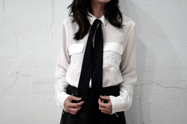 Chic DIY 70s-Styled Shirt Tie To Make
