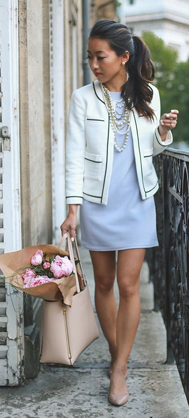 Picture Of chic ways to rock serenity in your outfits  12