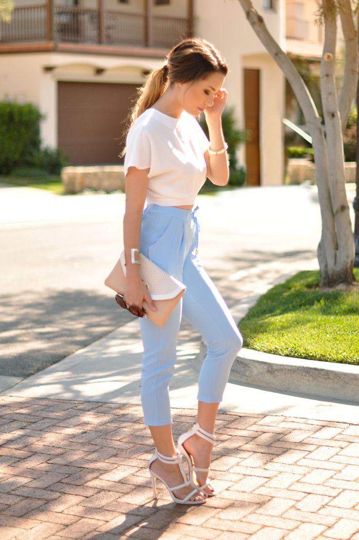 Picture Of chic ways to rock serenity in your outfits  15