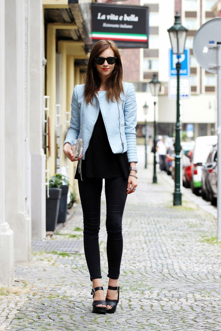 of chic ways to rock serenity in your outfits 16