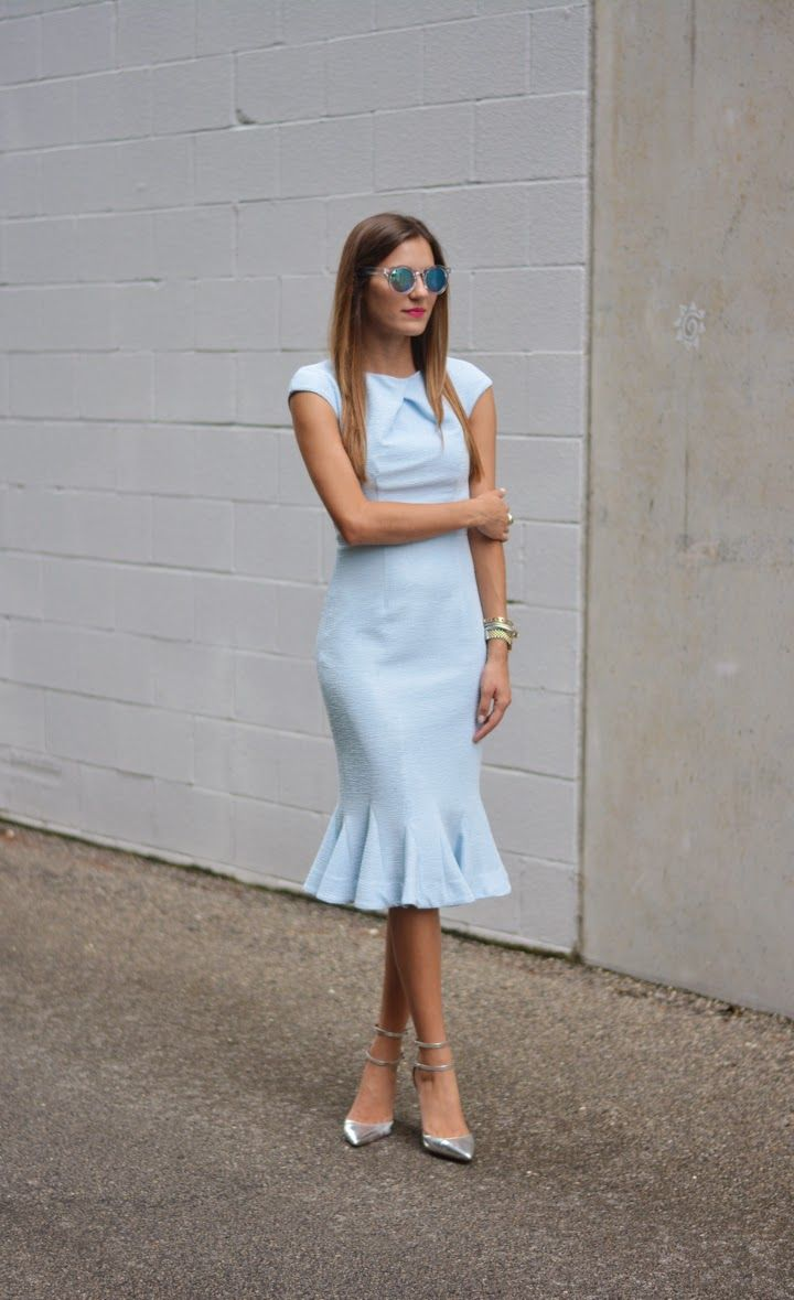 of chic ways to rock serenity in your outfits 18
