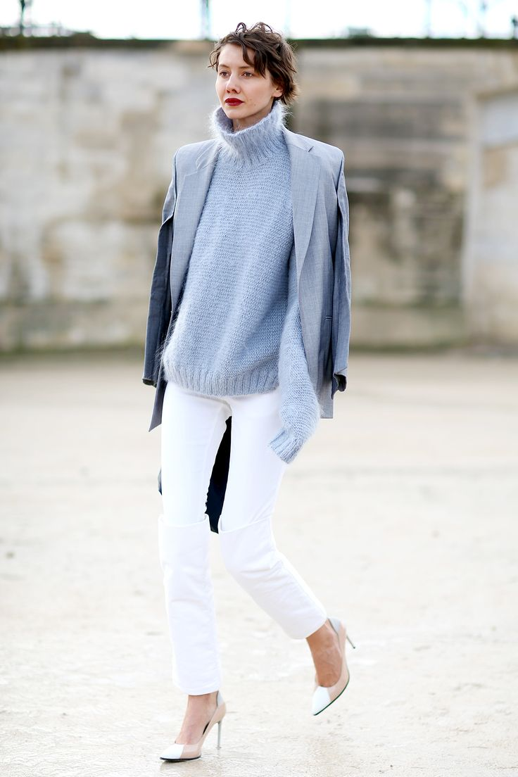 of chic ways to rock serenity in your outfits 23
