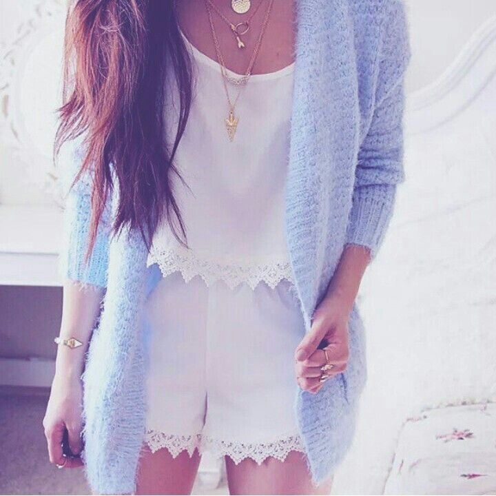 Picture Of chic ways to rock serenity in your outfits  24