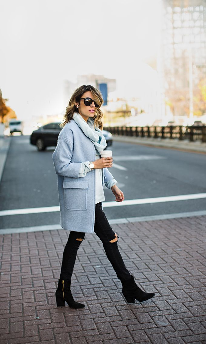 Picture Of chic ways to rock serenity in your outfits  4