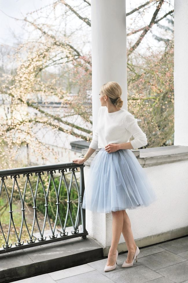 Picture Of chic ways to rock serenity in your outfits  5