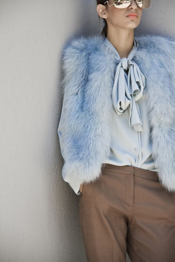 Picture Of chic ways to rock serenity in your outfits  6