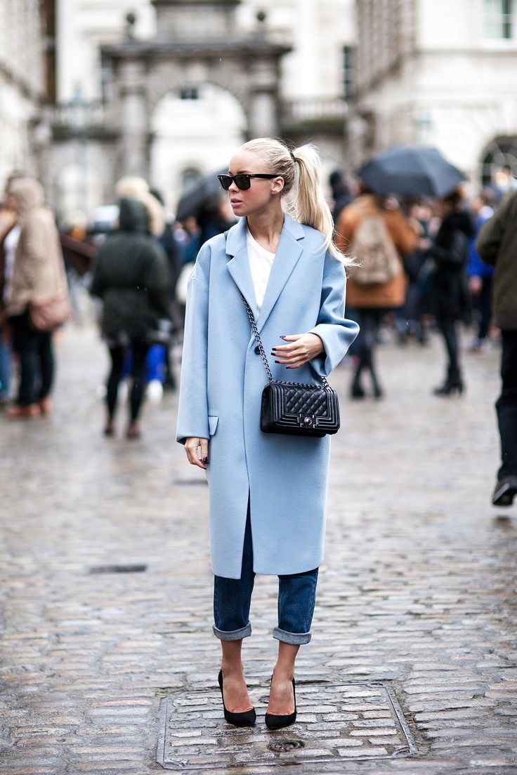of chic ways to rock serenity in your outfits 7