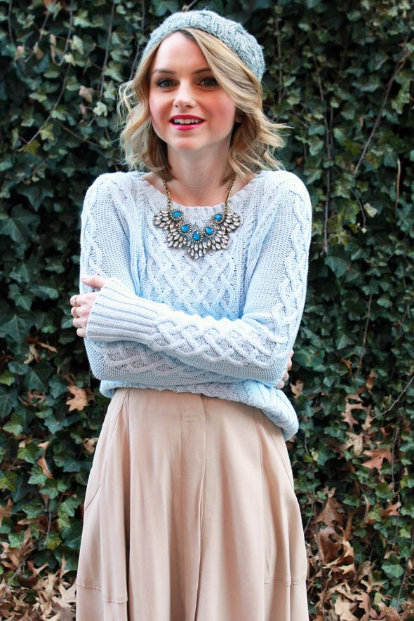 Picture Of chic ways to rock serenity in your outfits  9