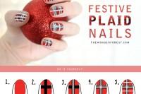 christmas-inspired-diy-festive-plaid-nail-art-2
