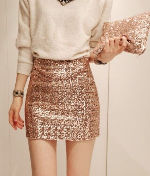Picture Of christmas outfits with sequin pieces  12