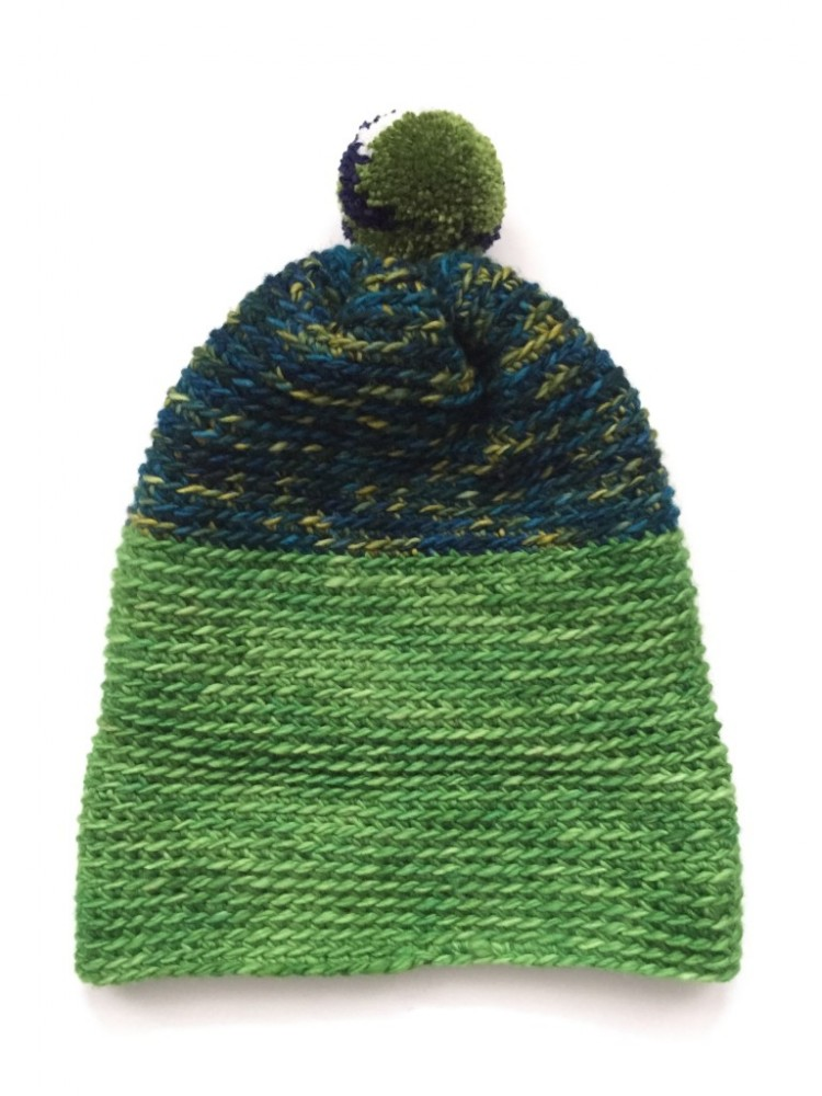 DIY Crochet Alpine Pom Pom Hat For Winter