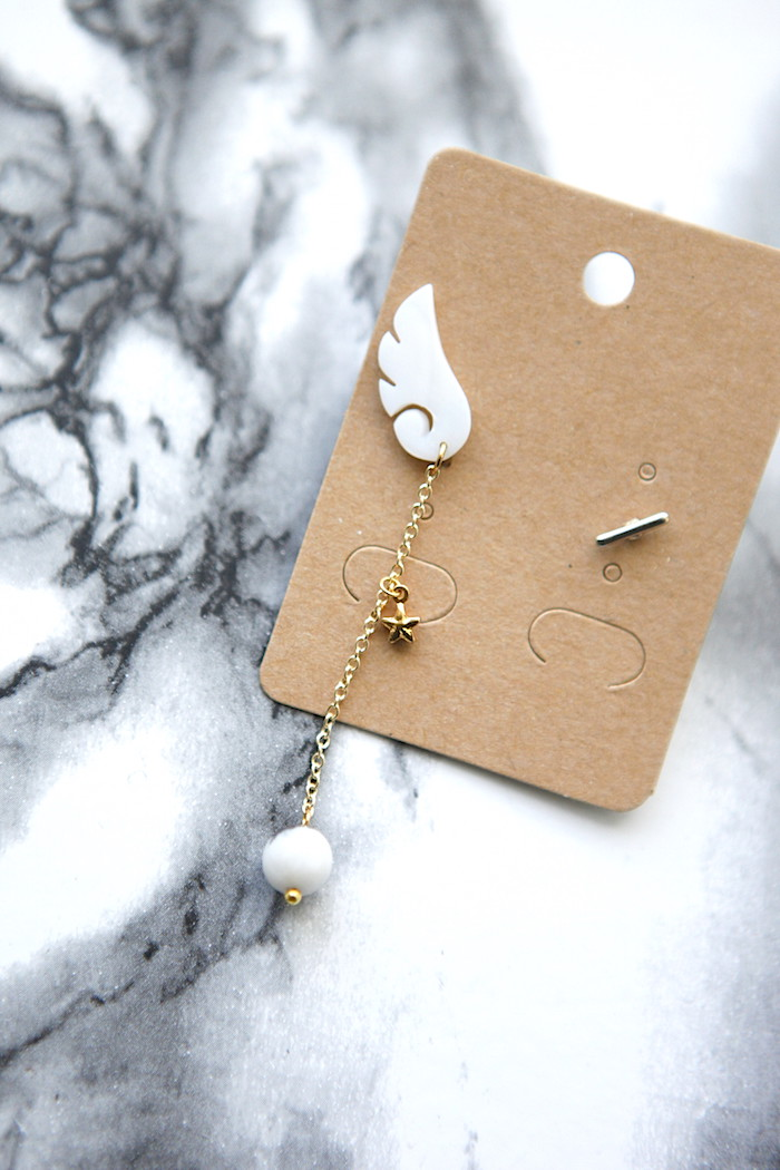 DIY One Sided Earring For A Trendy Mismatched Look