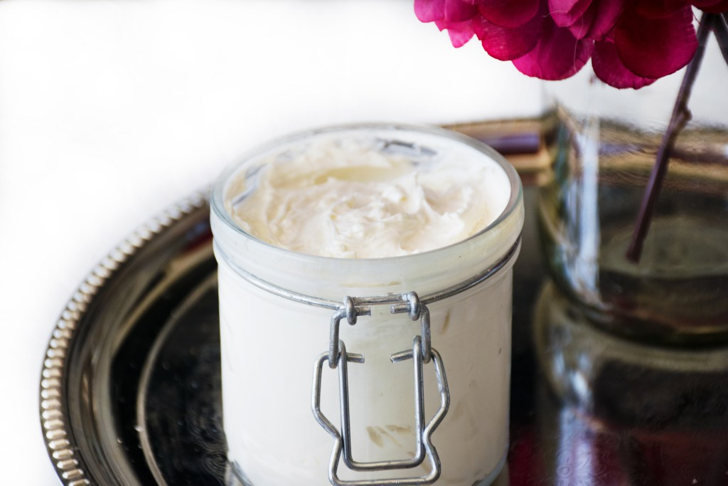 Picture Of diy whipped body butter with coconut and almond oils  1