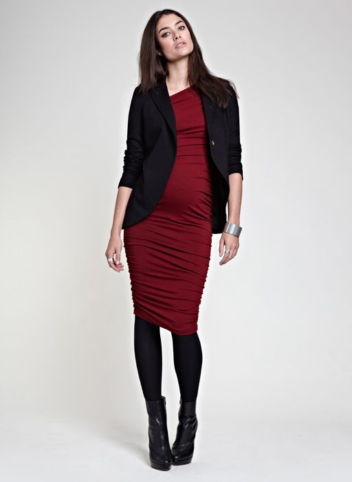 21 Elegant And Comfy Maternity Outfits For Work