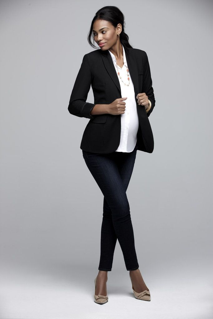 Picture Of Elegant And Comfy Maternity Outfits For Work 3