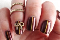fancy-diy-burgundy-and-bow-manicure-1