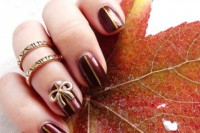 fancy-diy-burgundy-and-bow-manicure-4