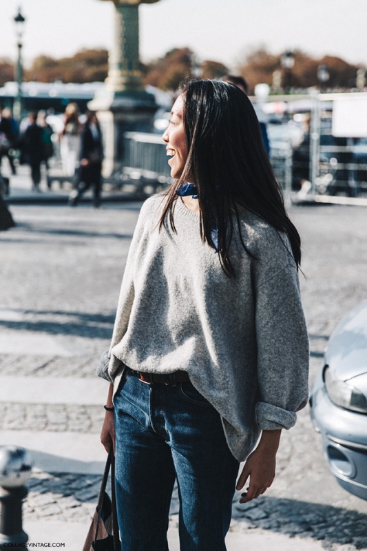 How To Tuck In Oversized Sweaters 18 Perfectly Stylish Looks