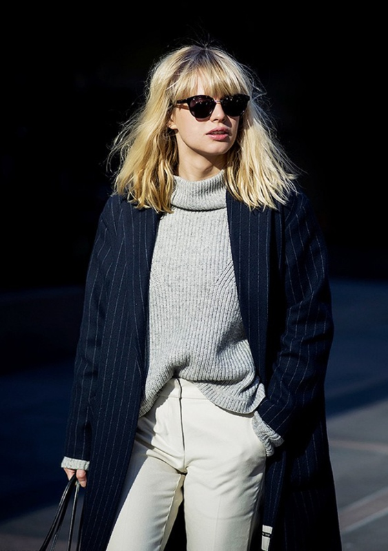 Picture Of how to tuck in oversized sweaters 18 perfectly stylish looks  13