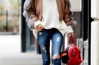 how-to-tuck-in-oversized-sweaters-18-perfectly-stylish-looks-9