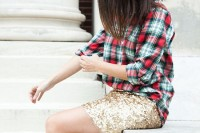 plaid-christmas-outfits-to-recreate-for-holidays-23