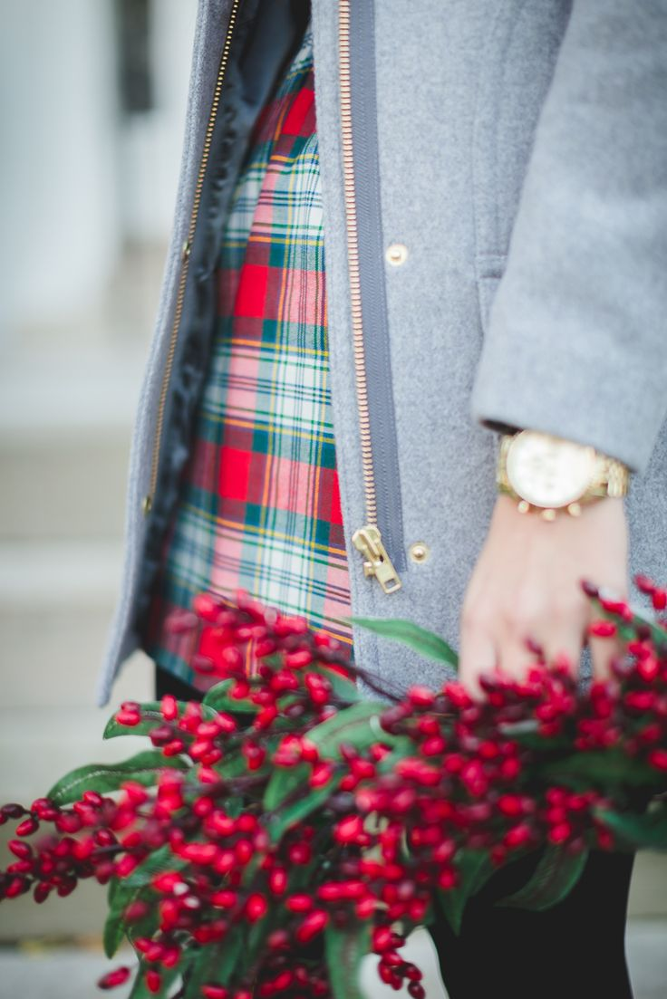 Plaid Christmas Outfits To Recreate For Holidays