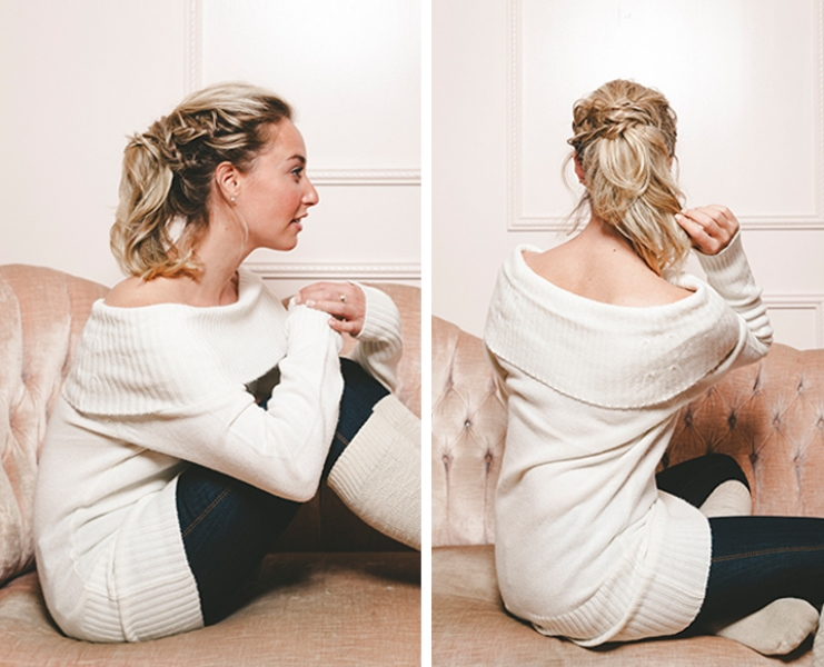 Picture Of product free diy casual braid for cozy holidays  2