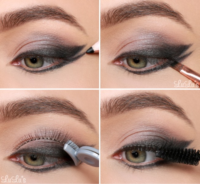 Runway Worthy DIY Double Wing Cat Eye Makeup