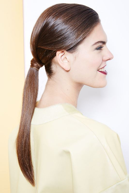 Sleek And Modern DIY Hidden Twist Ponytail