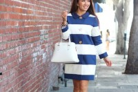 15 Awesome Striped Coats For Ladies13