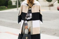 15 Awesome Striped Coats For Ladies15
