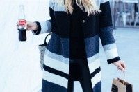 15 Awesome Striped Coats For Ladies2