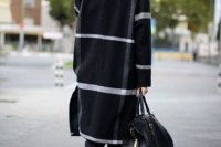 15 Awesome Striped Coats For Ladies4