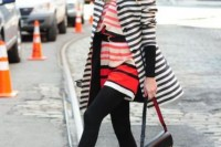 15 Awesome Striped Coats For Ladies6