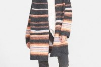 15 Awesome Striped Coats For Ladies7
