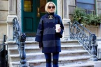 15 Awesome Striped Coats For Ladies9