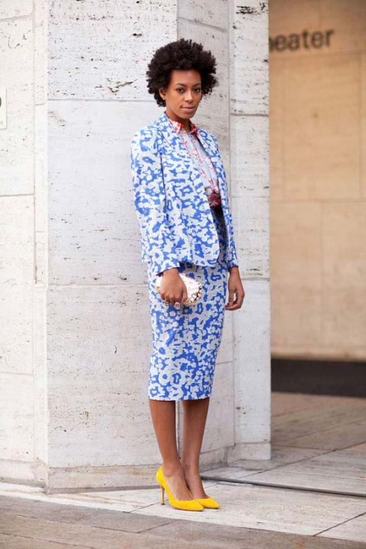 Picture Of bold and stylish printed suit looks to recreate  12