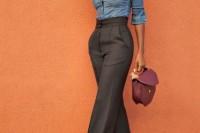 16 Cool Ways To Wear Wide-Leg Trousers11