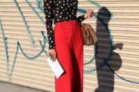 16 Cool Ways To Wear Wide-Leg Trousers12