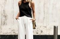 16 Cool Ways To Wear Wide-Leg Trousers16