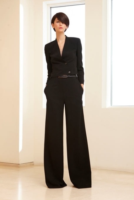 Picture Of Cool Ways To Wear Wide Leg Trousers 2