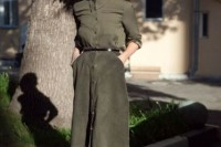 16 Feminine Suede Skirt Outfits12