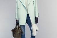 17 Charming Mint Coats For This Season