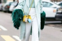 17 Charming Mint Coats For This Season12