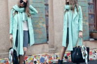 17 Charming Mint Coats For This Season17