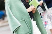 17 Charming Mint Coats For This Season5