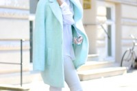 17 Charming Mint Coats For This Season8