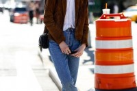 18 Suede Jacket Outfits For Stylish Ladies13