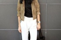 18 Suede Jacket Outfits For Stylish Ladies15